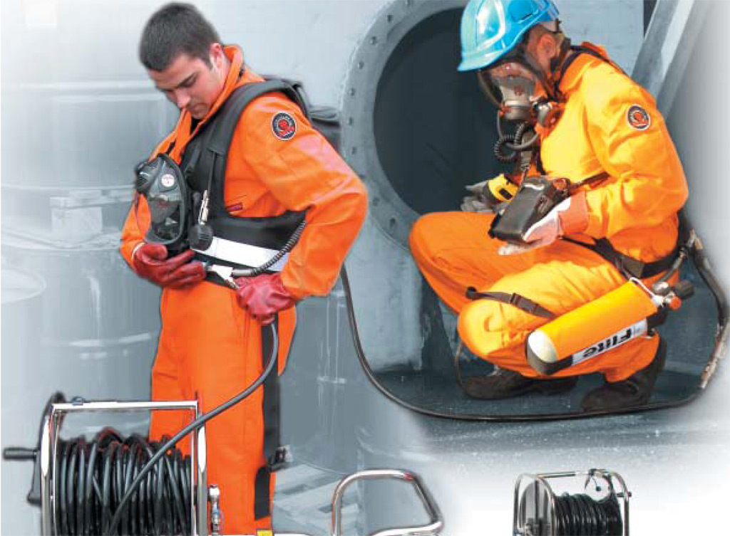Airline Breathing Apparatus
