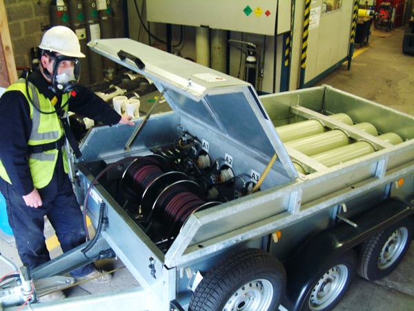 Image of IPT Breathing Air Cylinder Trailer