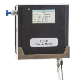 F6100-Inline-Continuous-Monitor-of-Breathing-Air-Datasheet